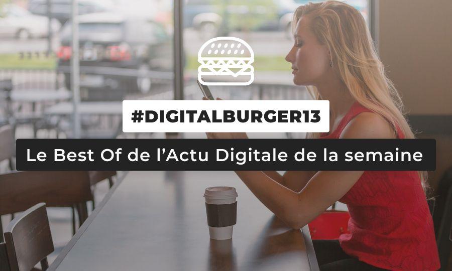 Le visuel du Digital Burger numéro 13 de Sysentive.
