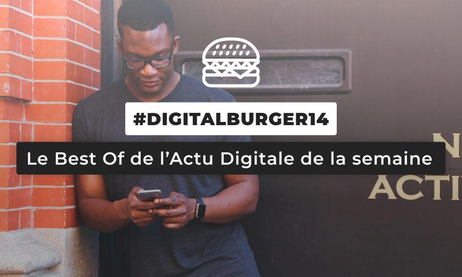 Le visuel du Digital Burger numéro 14 de Sysentive.