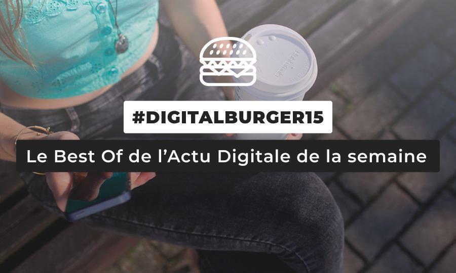 Le visuel du Digital Burger numéro 15 de Sysentive.