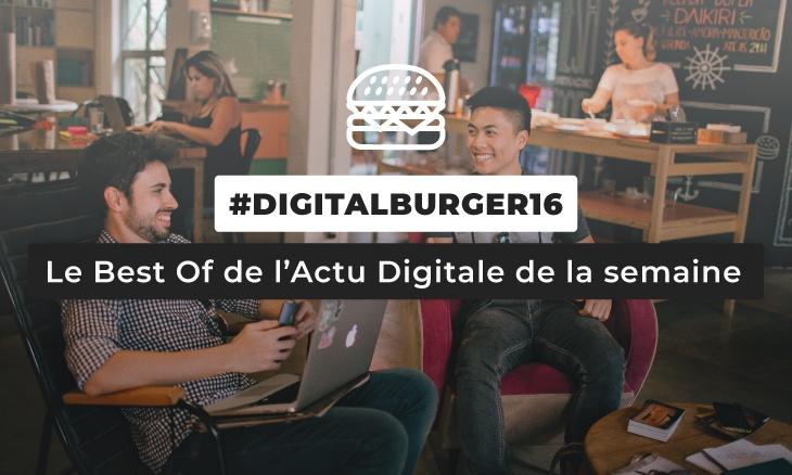Le visuel du Digital Burger numéro 16 de Sysentive.