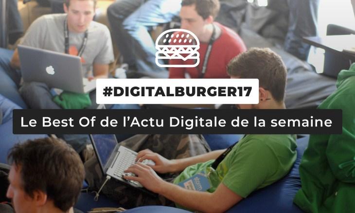 Le visuel du Digital Burger numéro 17 de Sysentive.
