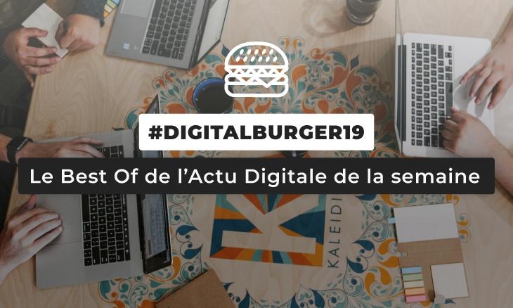Le visuel du Digital Burger numéro 19 de Sysentive.