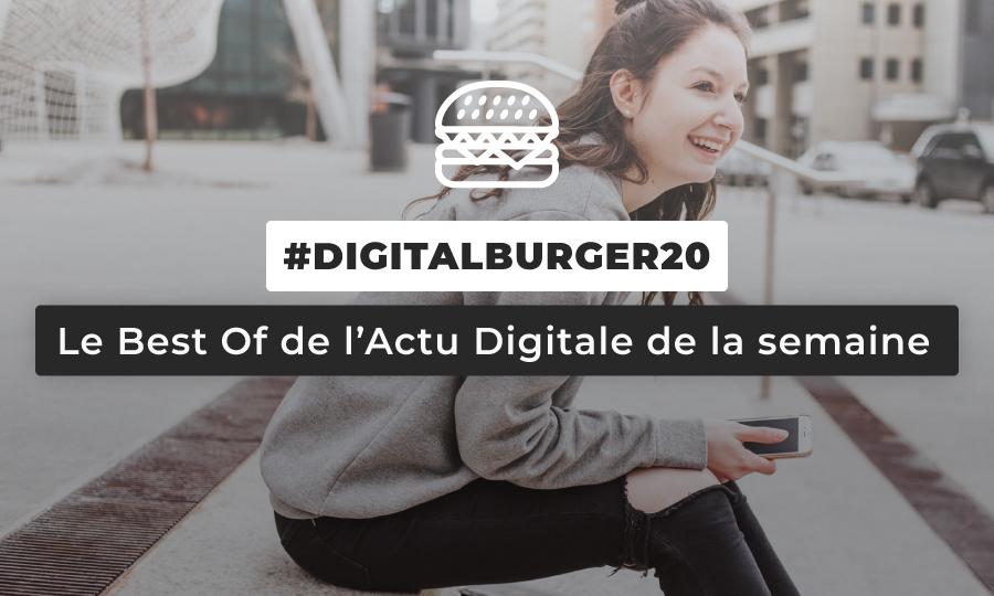 Le visuel du Digital Burger numéro 20 de Sysentive.