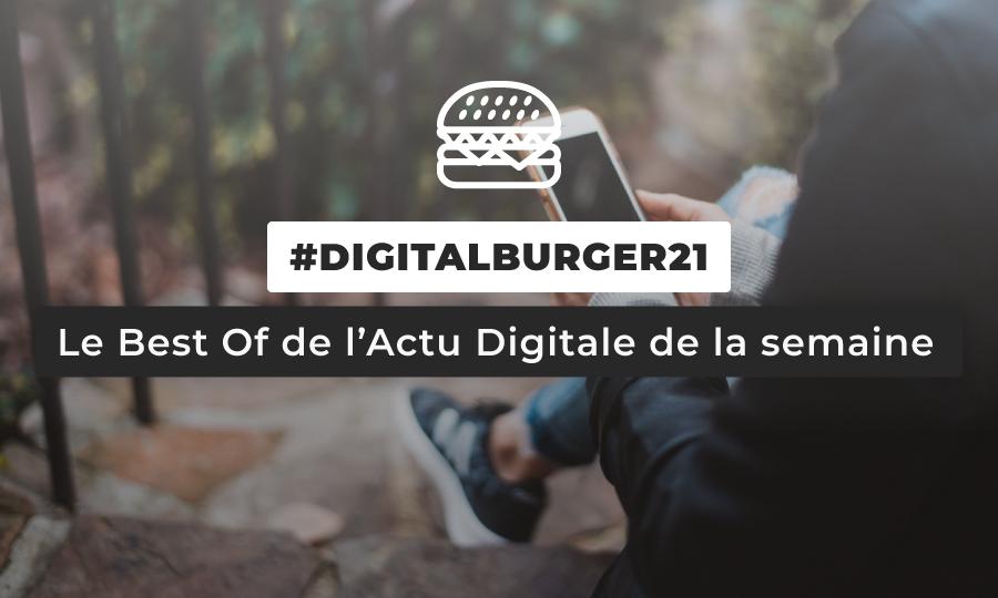 Le visuel du Digital Burger numéro 21 de Sysentive.