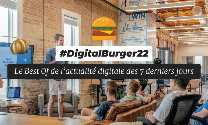 Le visuel du Digital Burger numéro 22 de Sysentive.