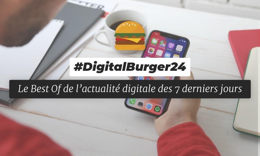 Le visuel du Digital Burger numéro 24 de Sysentive.