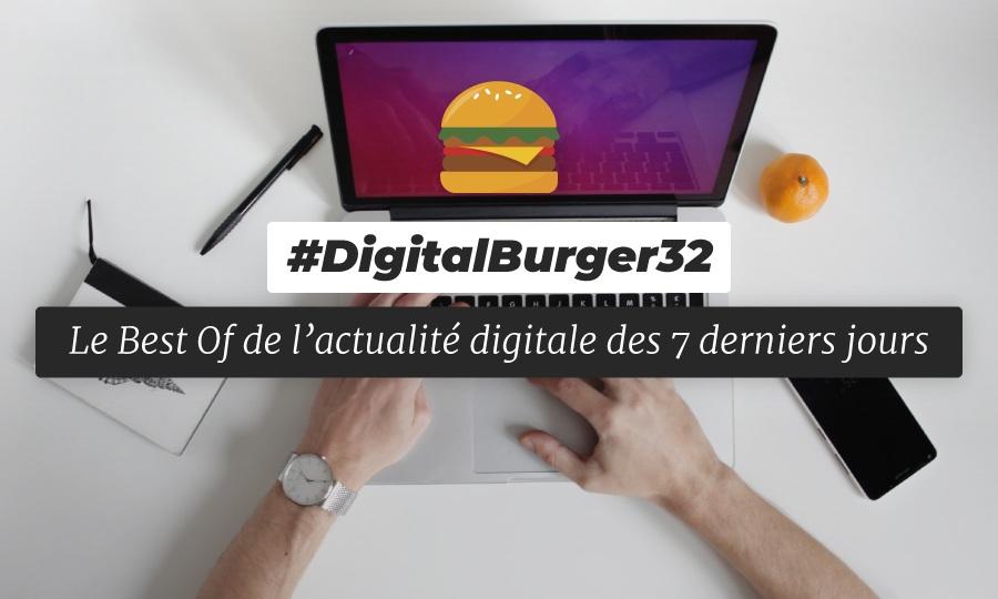 Le visuel du Digital Burger numéro 32 de Sysentive.
