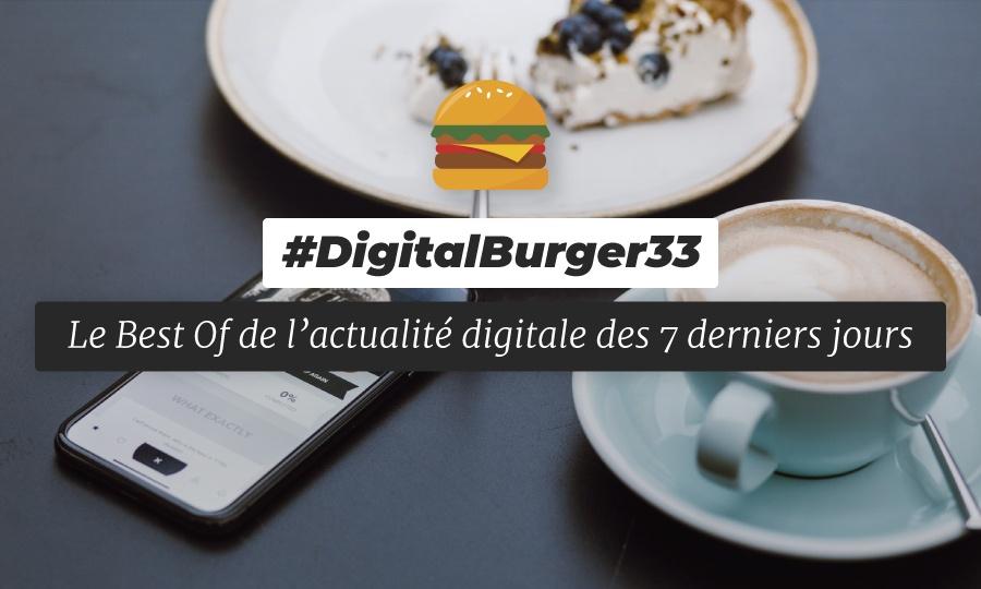 Le visuel du Digital Burger numéro 33 de Sysentive.