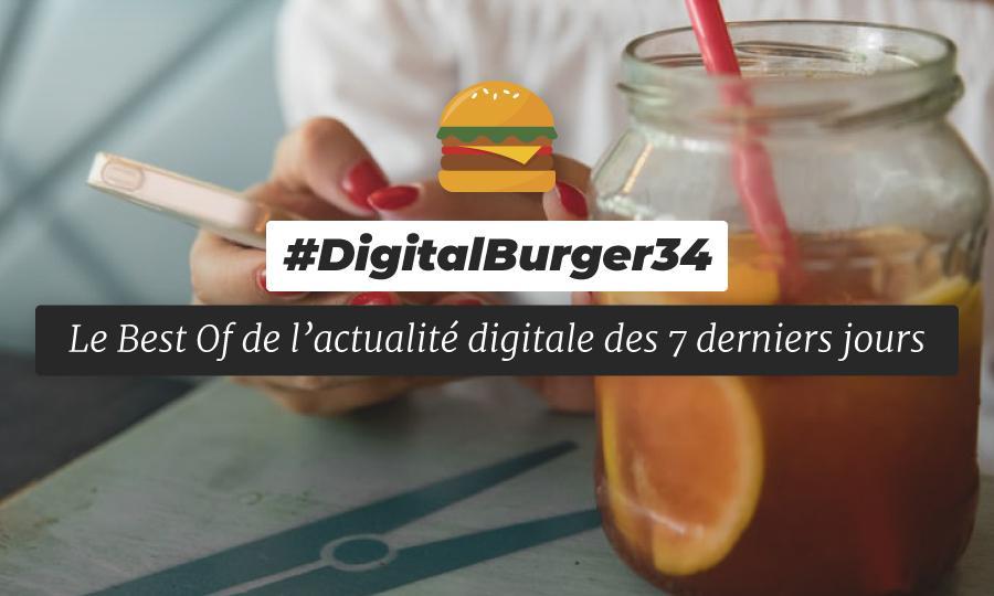 Le visuel du Digital Burger numéro 34 de Sysentive.