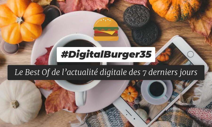 Le visuel du Digital Burger numéro 35 de Sysentive.