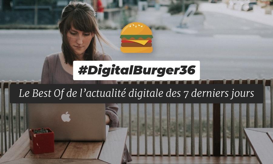 Le visuel du Digital Burger numéro 36 de Sysentive.