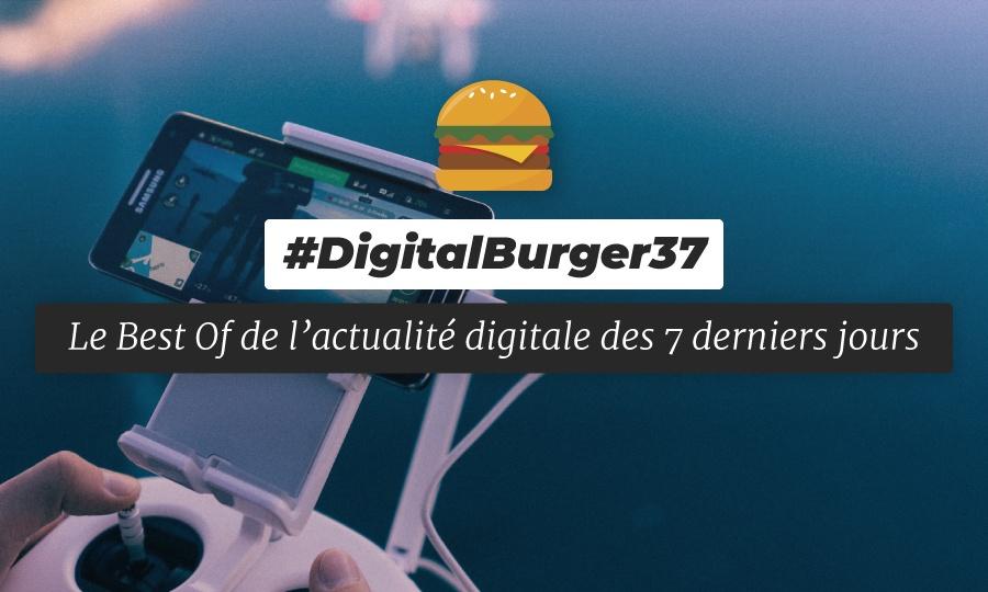 Le visuel du Digital Burger numéro 37 de Sysentive.