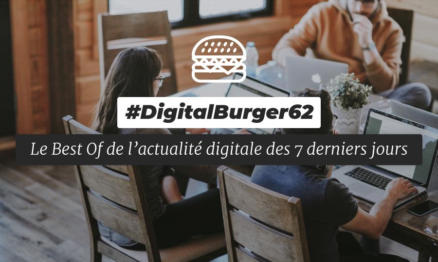 Le visuel du Digital Burger numéro 62 de Sysentive.