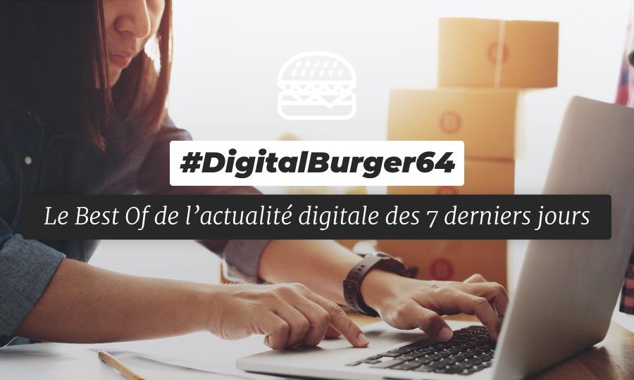 Le visuel du Digital Burger numéro 64 de Sysentive.