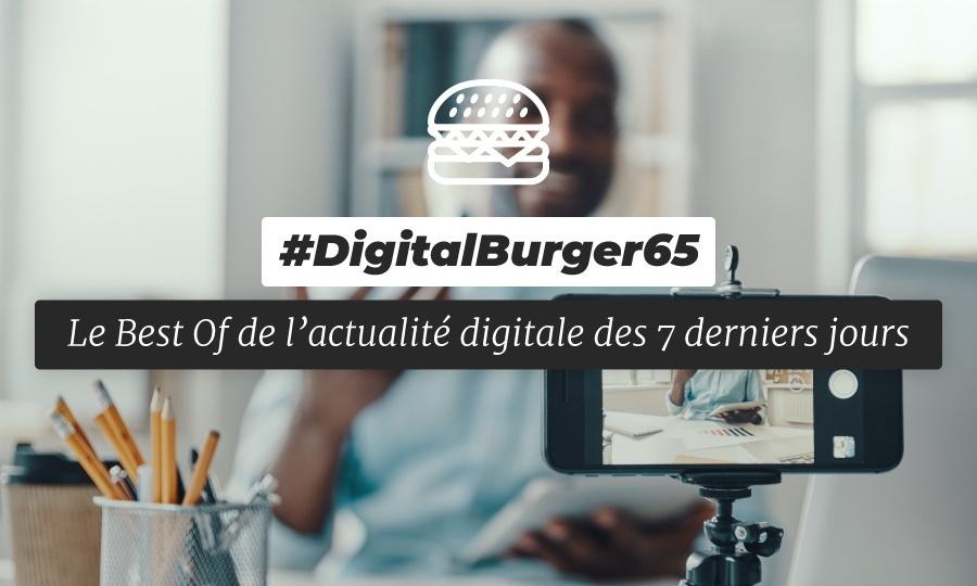 Le visuel du Digital Burger numéro 65 de Sysentive.