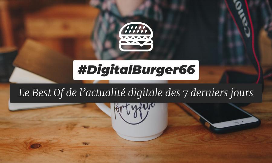 Le visuel du Digital Burger numéro 66 de Sysentive.