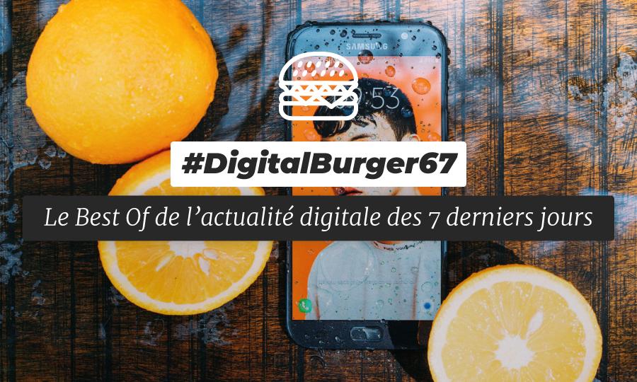 Le visuel du Digital Burger numéro 67 de Sysentive.