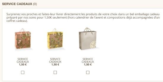 Emballage cadeau pour site e-commerce pour Noël